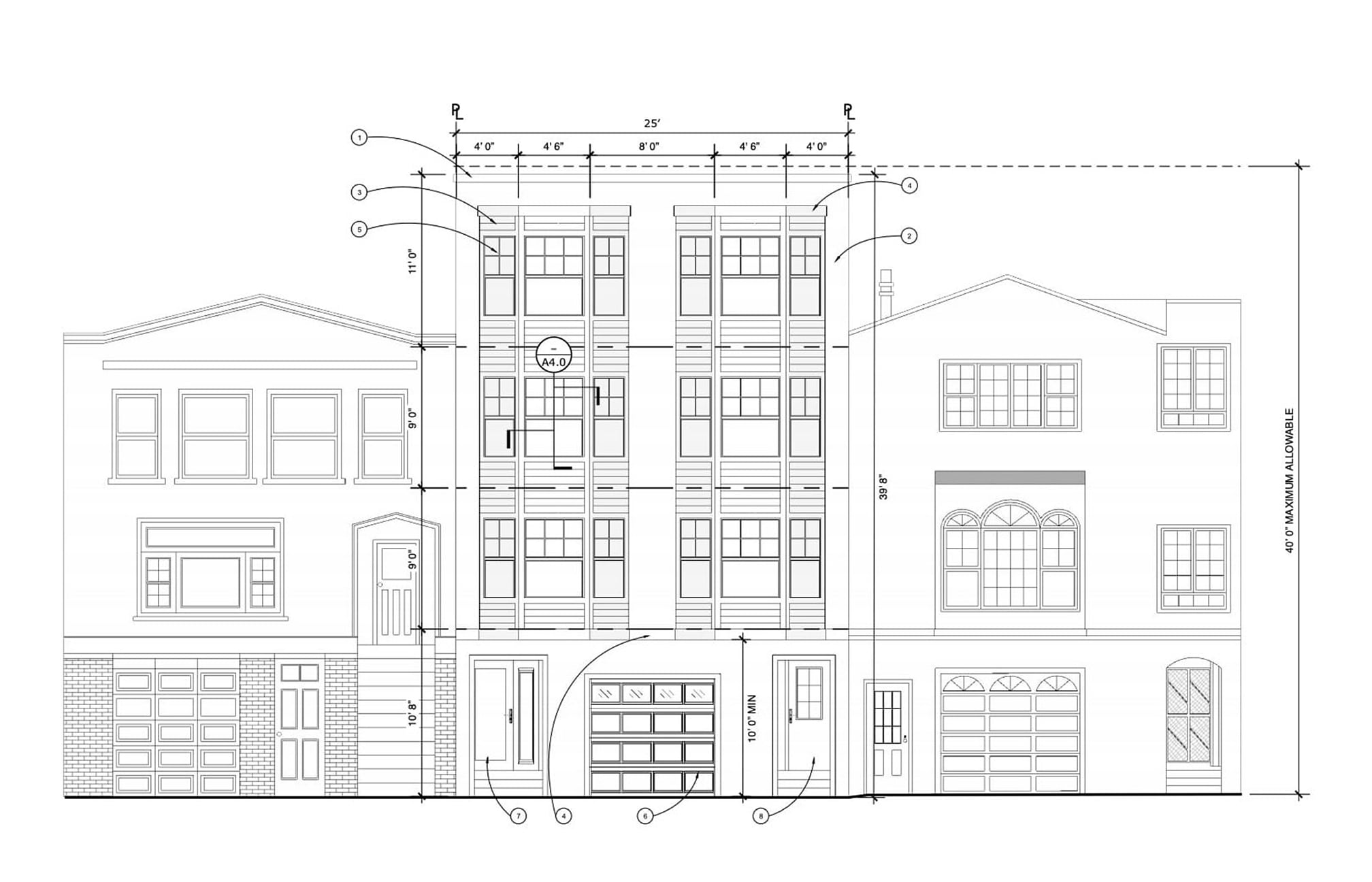 342 22nd Avenue, Elevation