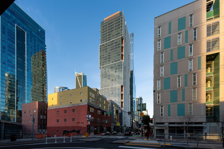 500 Folsom Street at golden hour, image by Andrew Campbell Nelson