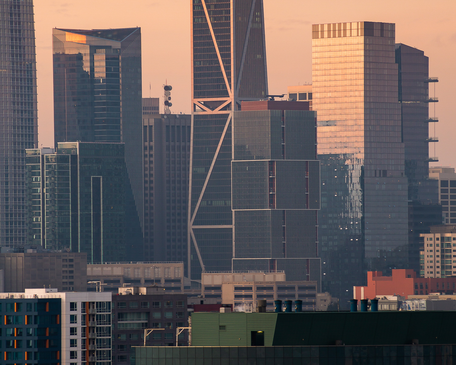500 Folsom Street in the skyline, image by Andrew Campbell Nelson
