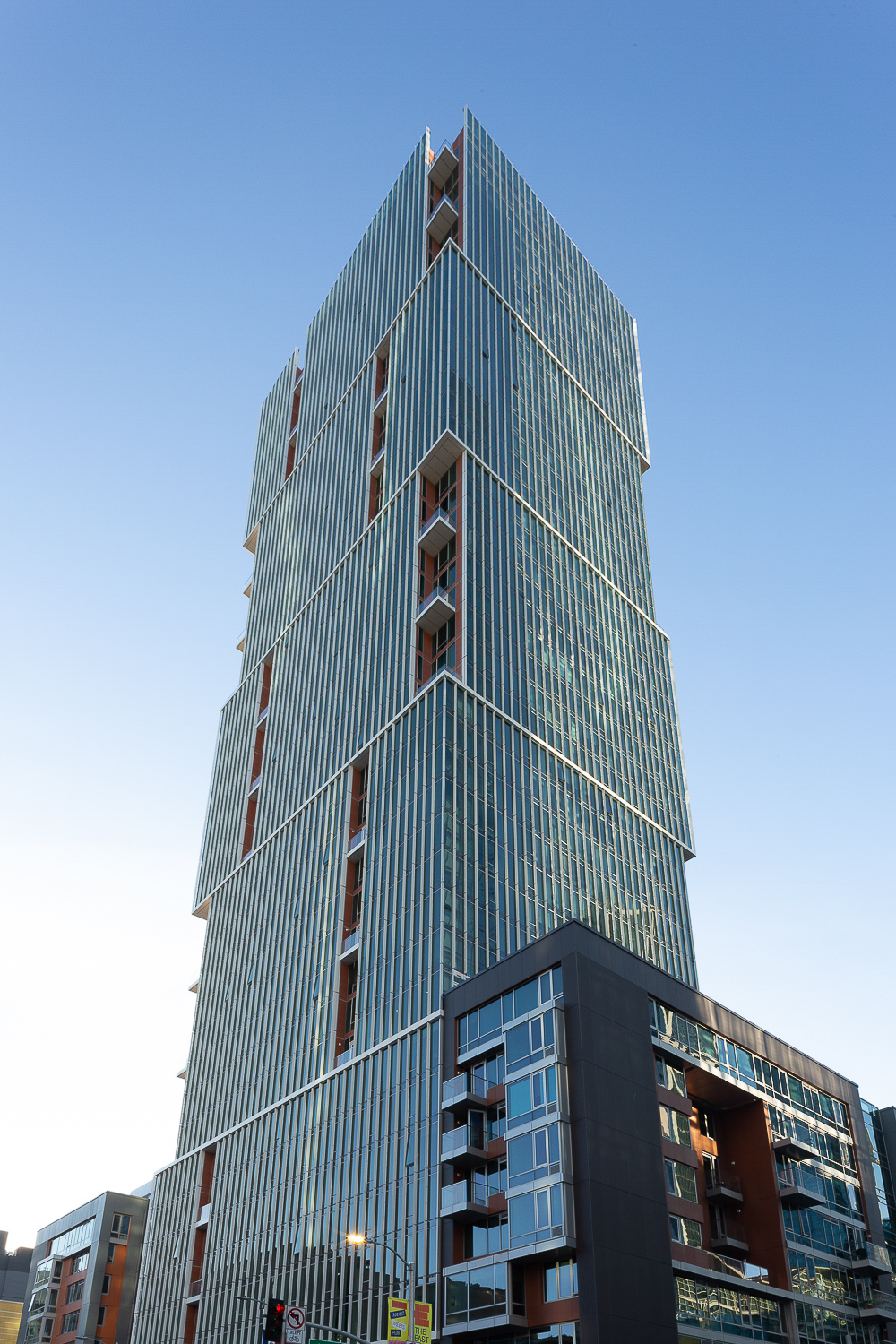 500 Folsom Street viewed from below, image by Andrew Campbell Nelson