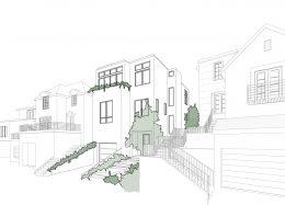 64 Santa Rita Avenue, sketchup by William Duff Architects