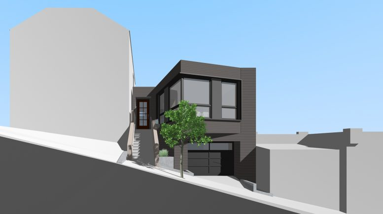 731 Peralta Avenue, illustration by SIA Consulting