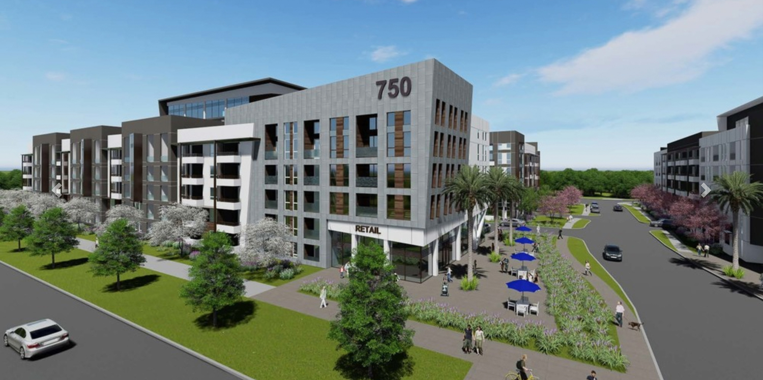 750 East Capitol Avenue, rendering courtesy Trio Commercial
