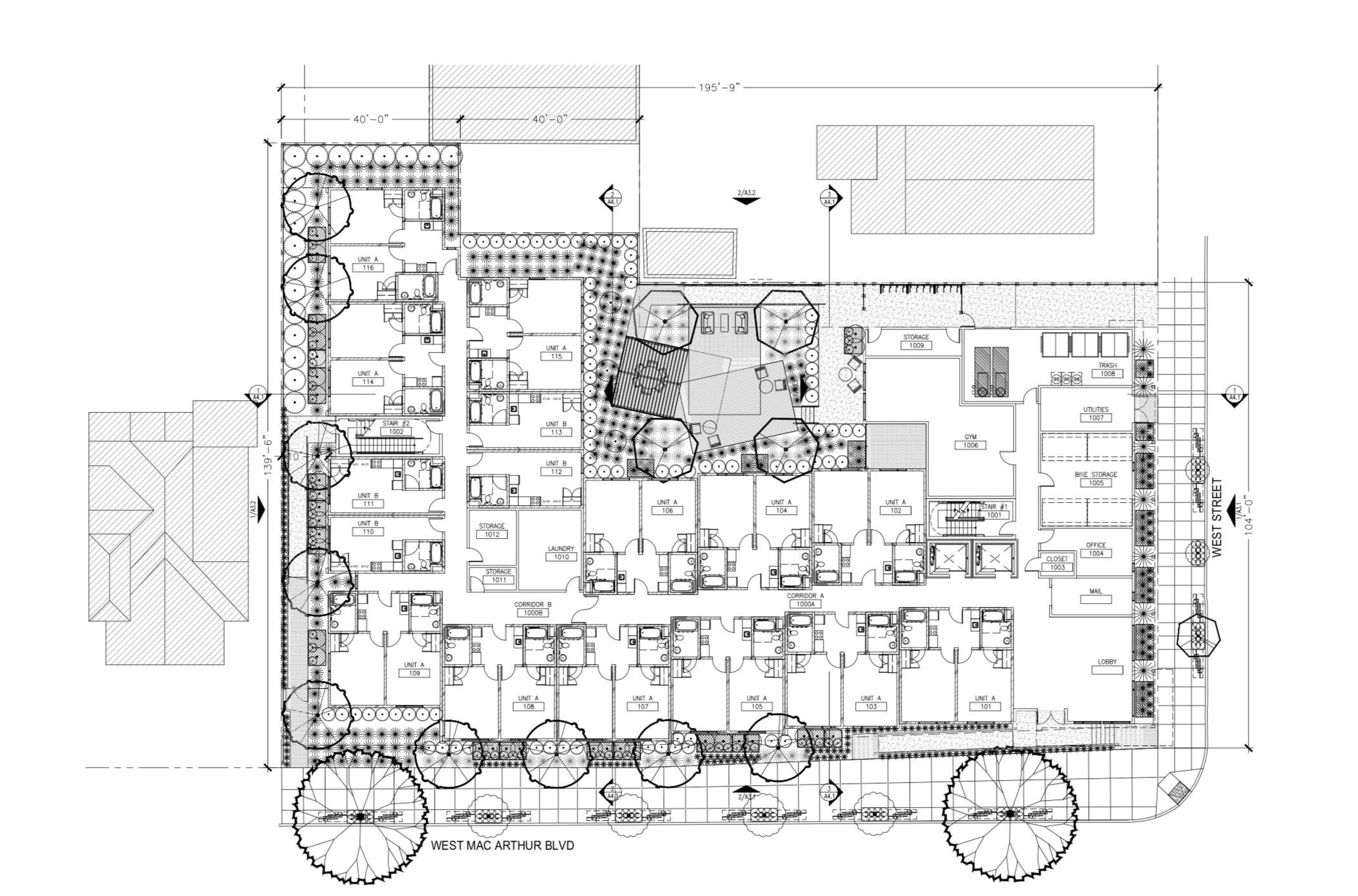 820 West MacArthur Boulevard First Floor Plan