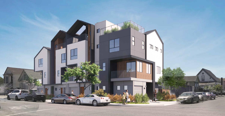 942 Pine Street main view, rendering by Collaborative Design Studio