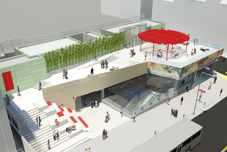 Chinatown Station, illustration from RHAA
