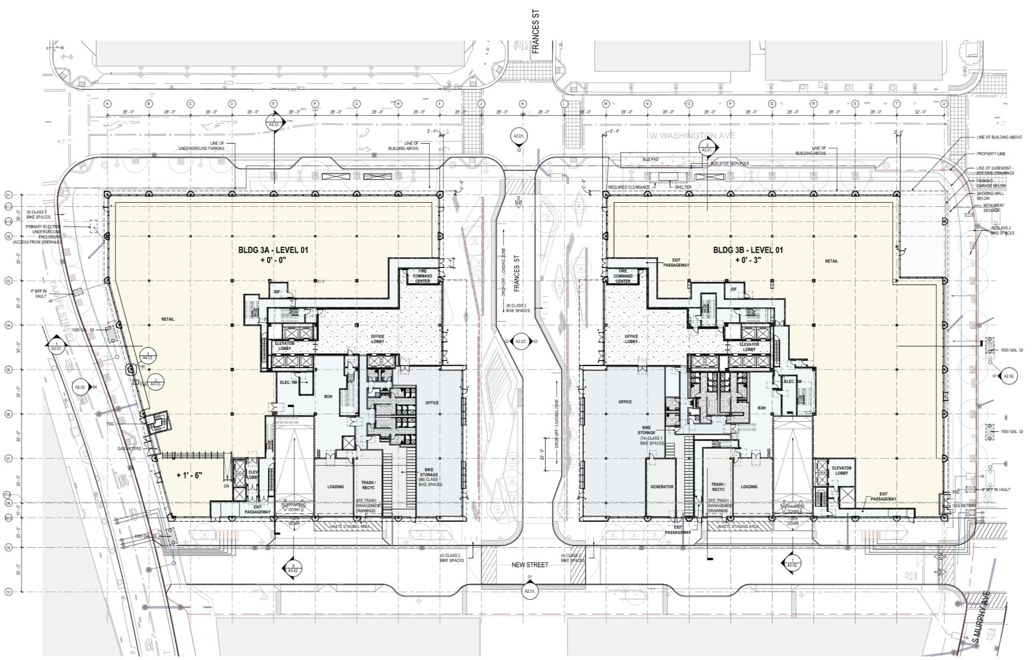 Cityline Building Floor Plan Level 1