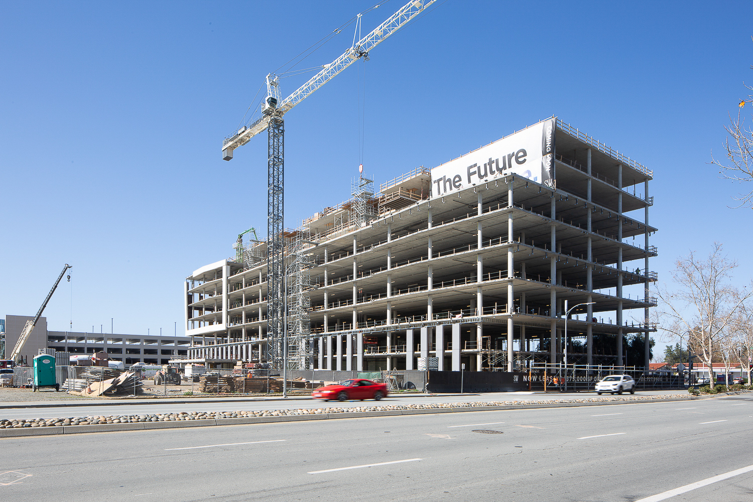 One Santana West construction update, image by Andrew Campbell Nelson