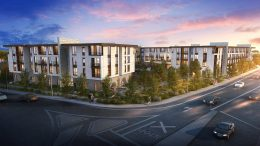 Senior Residential development at 3315 Almaden Expressway, rendering courtesy Urbal Architecture