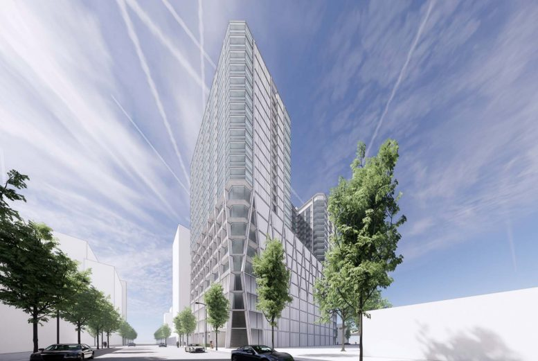 The Carlysle at 51 Notre Dame Avenue, rendering courtesy CBRE and Acquity Realty