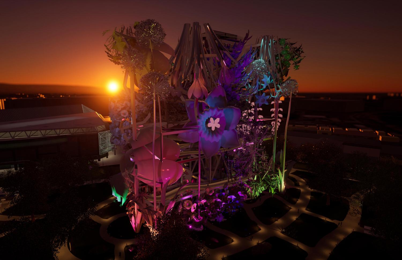 Welcome to Wonderland proposal, design by Huitt-Zollars