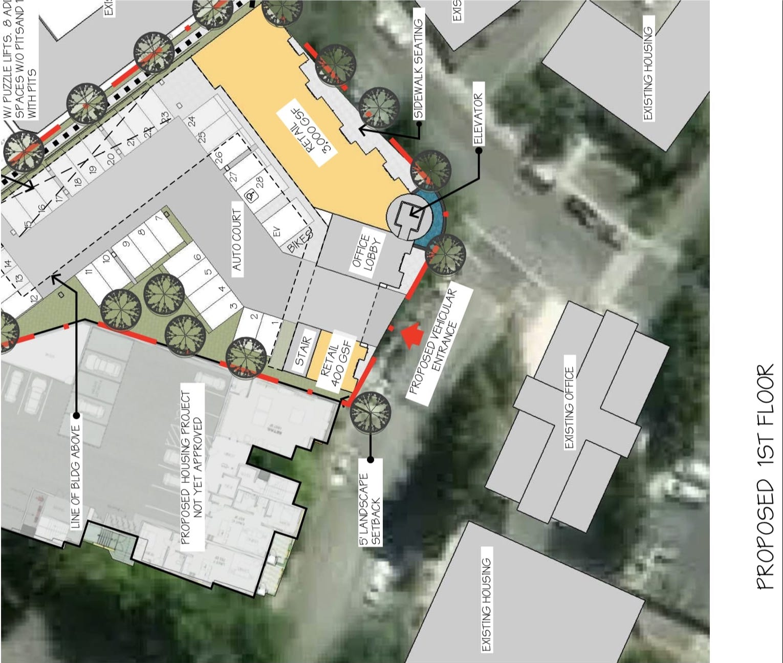 100 Lafayette Circle First Floor Plan
