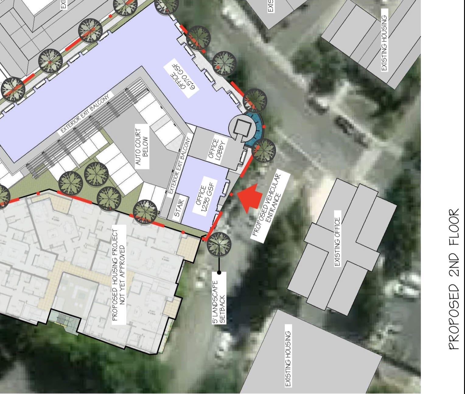 100 Lafayette Circle Second Floor Plan