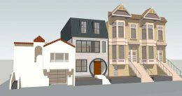 1112 Shotwell Avenue main view, rendering by Kerman Morris Architects