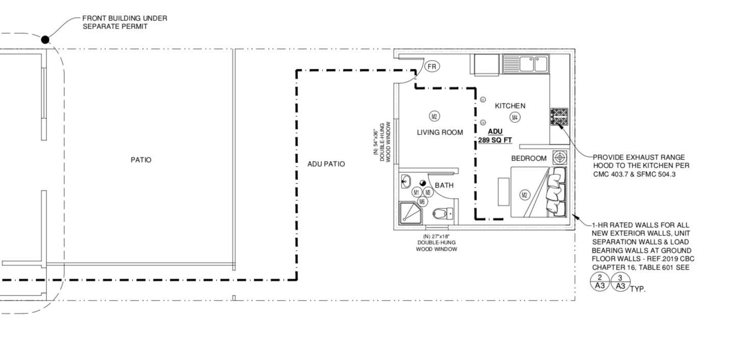 1473 Underwood Avenue Ground Floor Plan