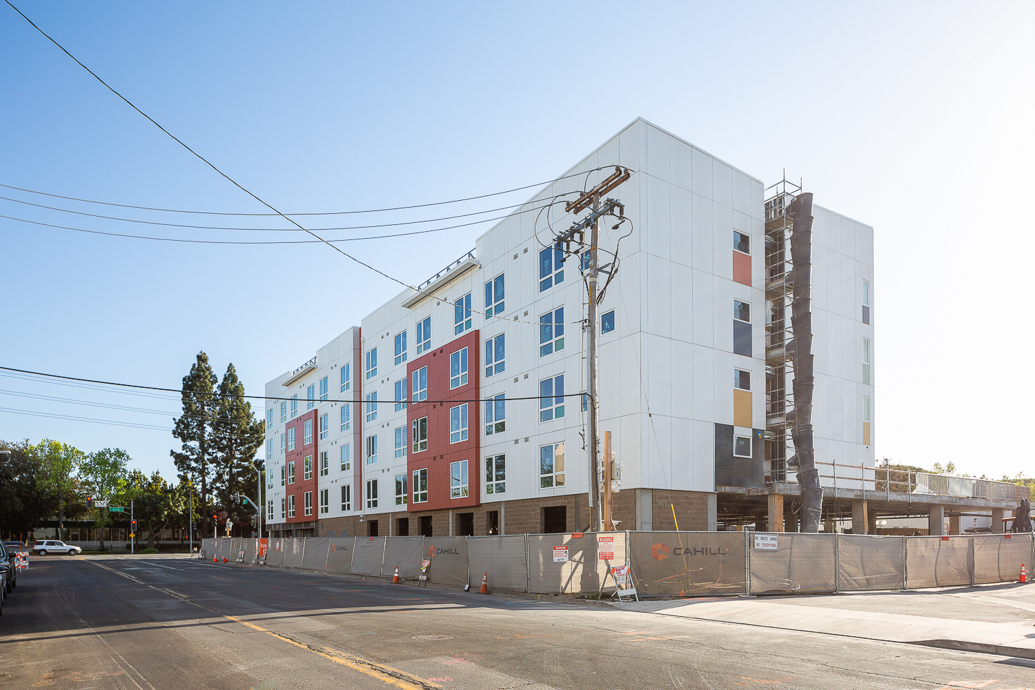 2904 Corvin Drive construction update, image by Andrew Campbell Nelson