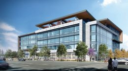 3655 Kifer Street viewed from Lawrence Expressway, rendering by RMW Architecture and Interiors