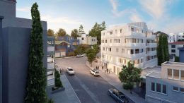 459 Wayne Avenue approach from Lakeshore Avenue, rendering by Larson Shores Architecture