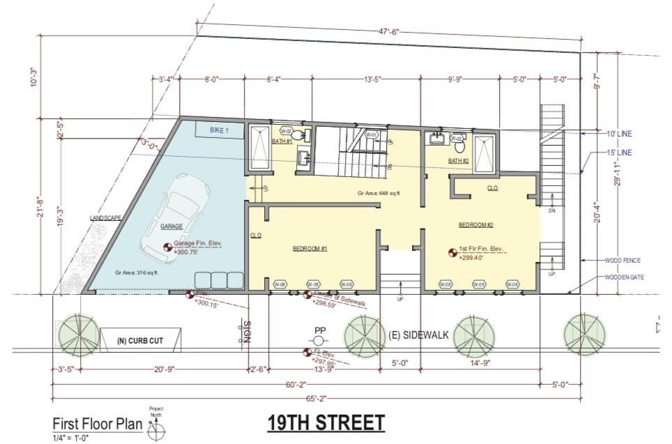 4822 19th Street First Floor Plan
