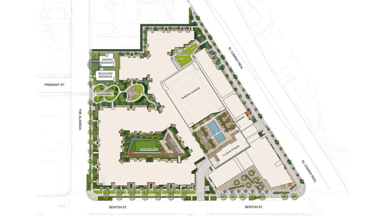 575 Benton Street floor plan, design by Studio T Square