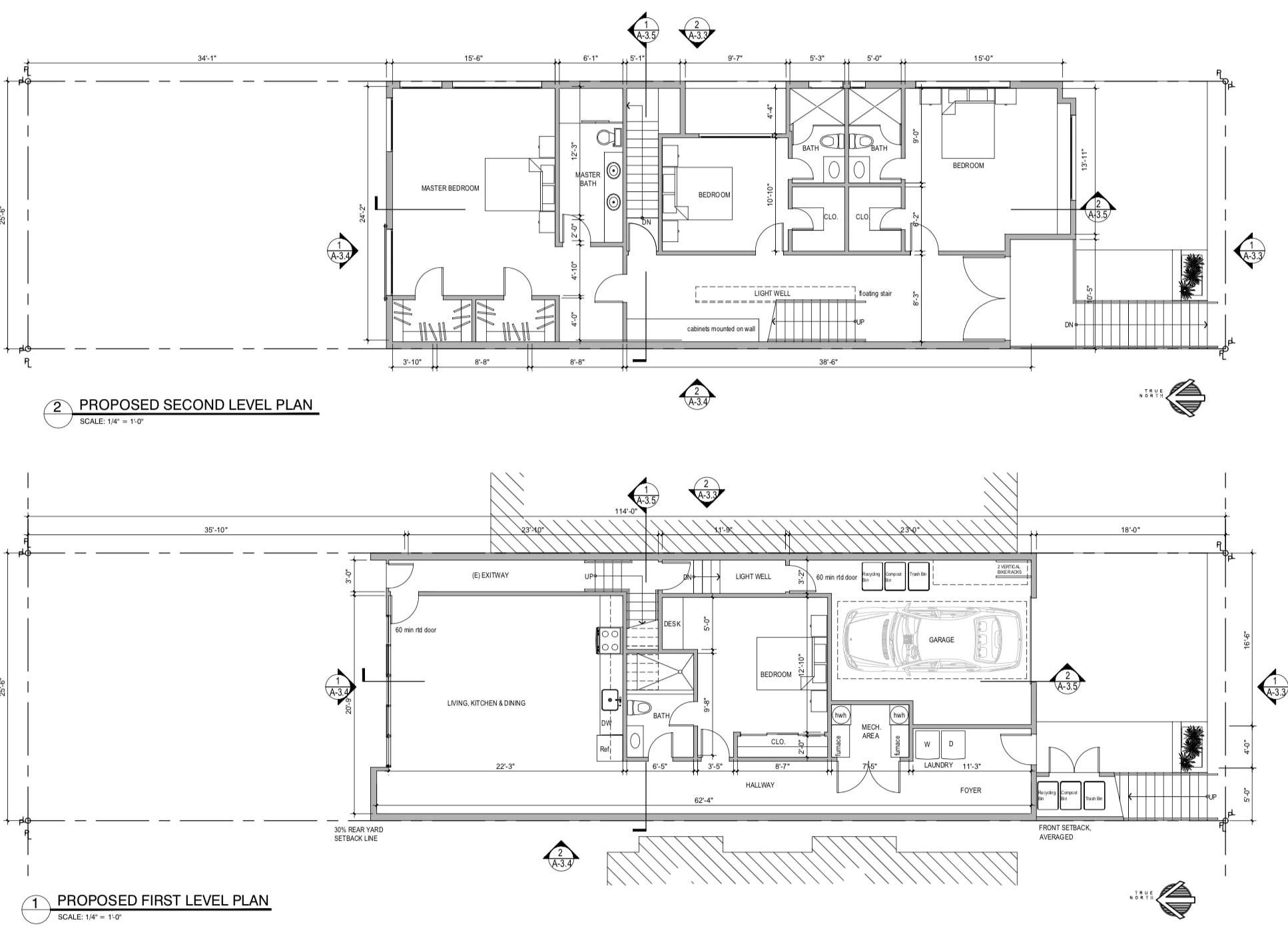 650 28th Street Floor Plans