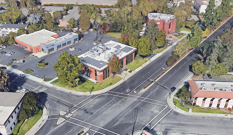 80 Saratoga Avenue, image via Google Satellite