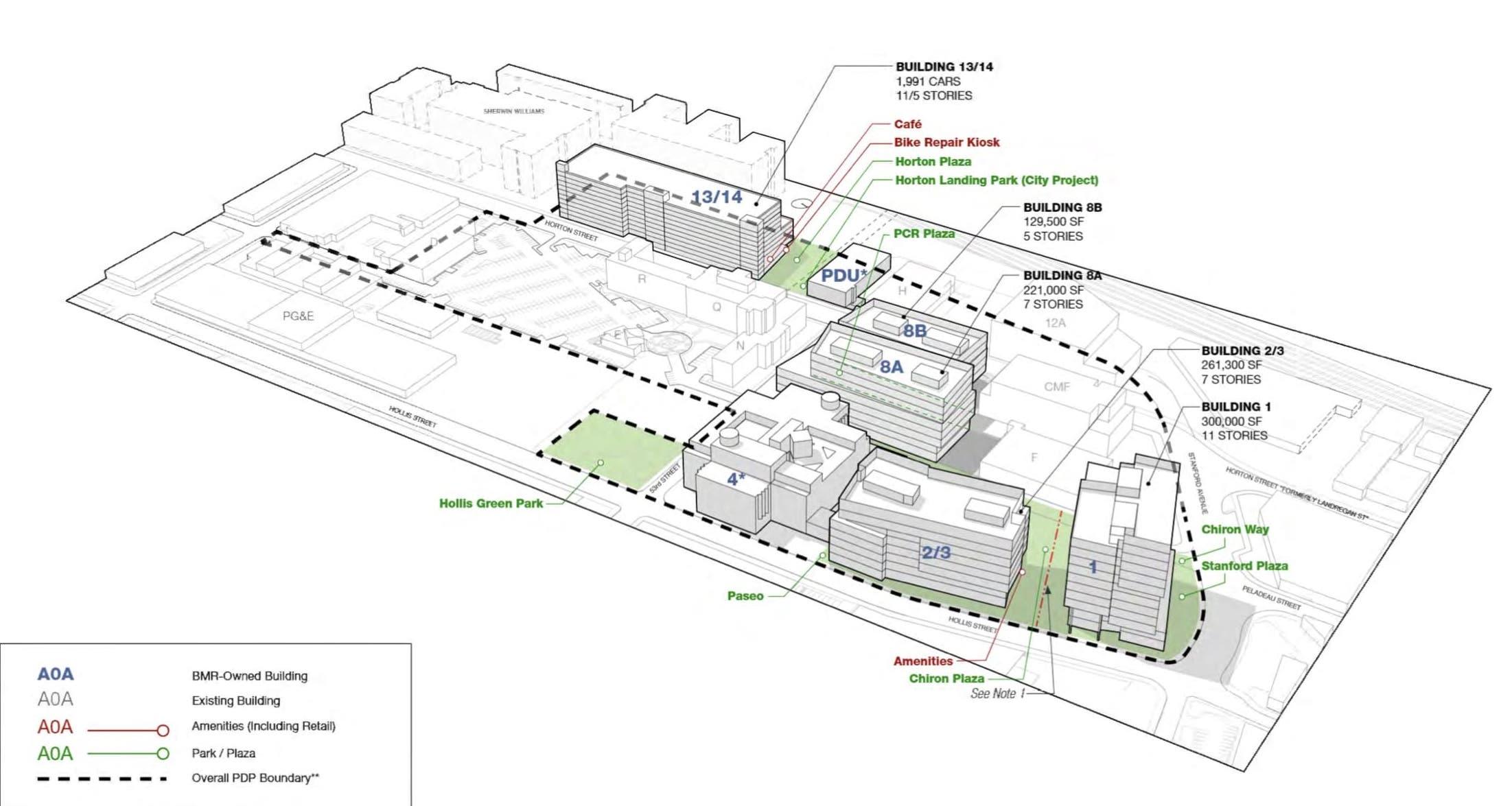 BioMed Center of Innovation Massing Diagram