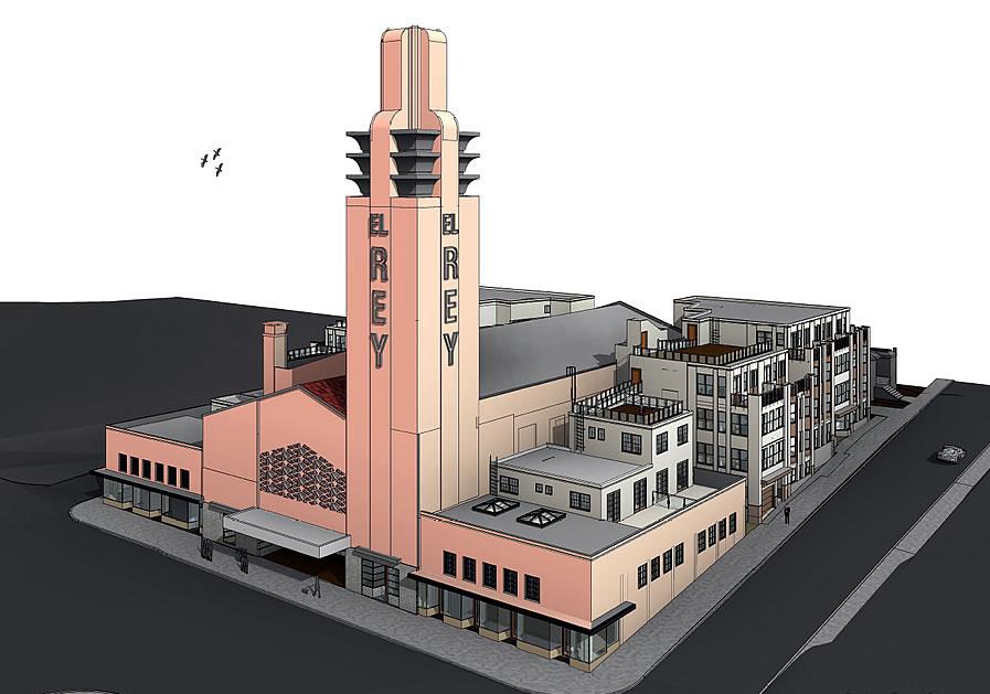 El Rey Theater Rendering