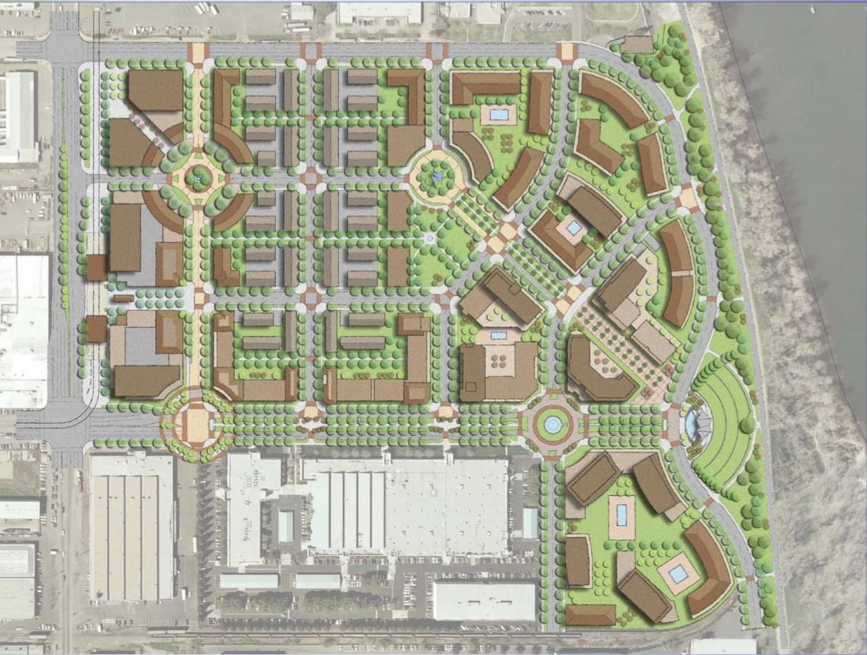 Township Nine Site Plan