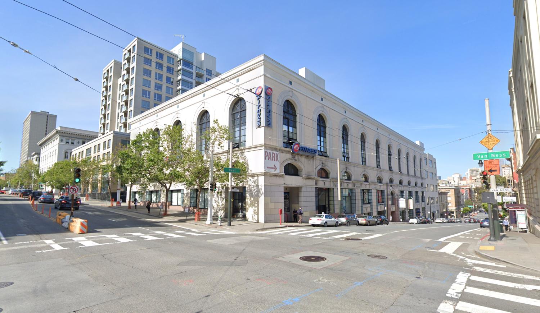 1200 Van Ness Avenue, image via Google Street View