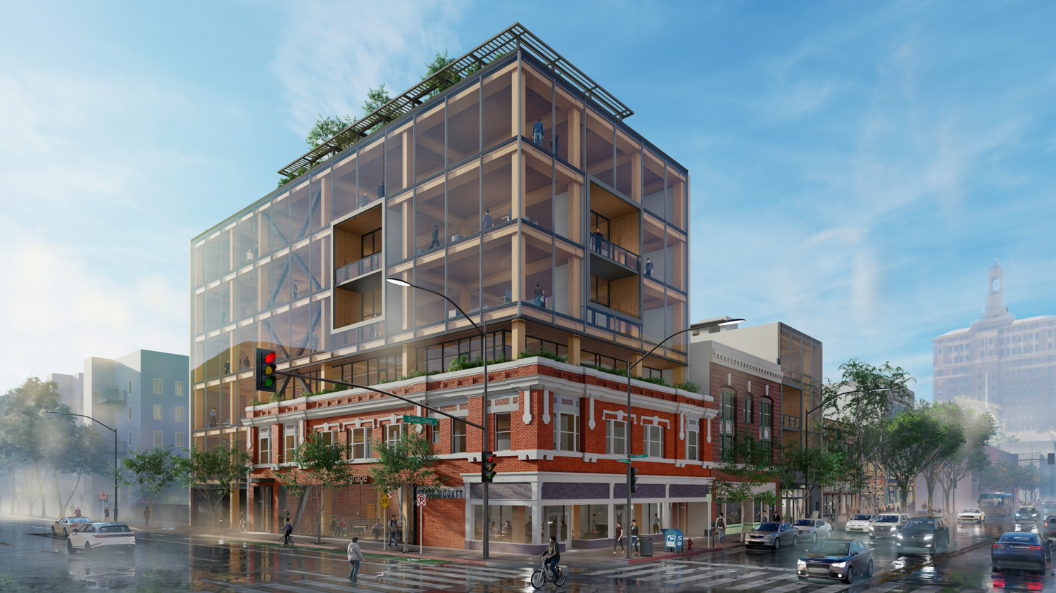 17 South Fourth Street view, rendering courtesy Bayview Development Group
