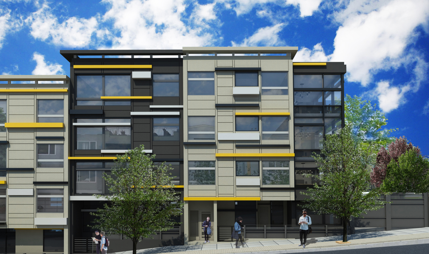 249 Pennsylvania Avenue four story proposal facade elevation, rendering courtesy project website