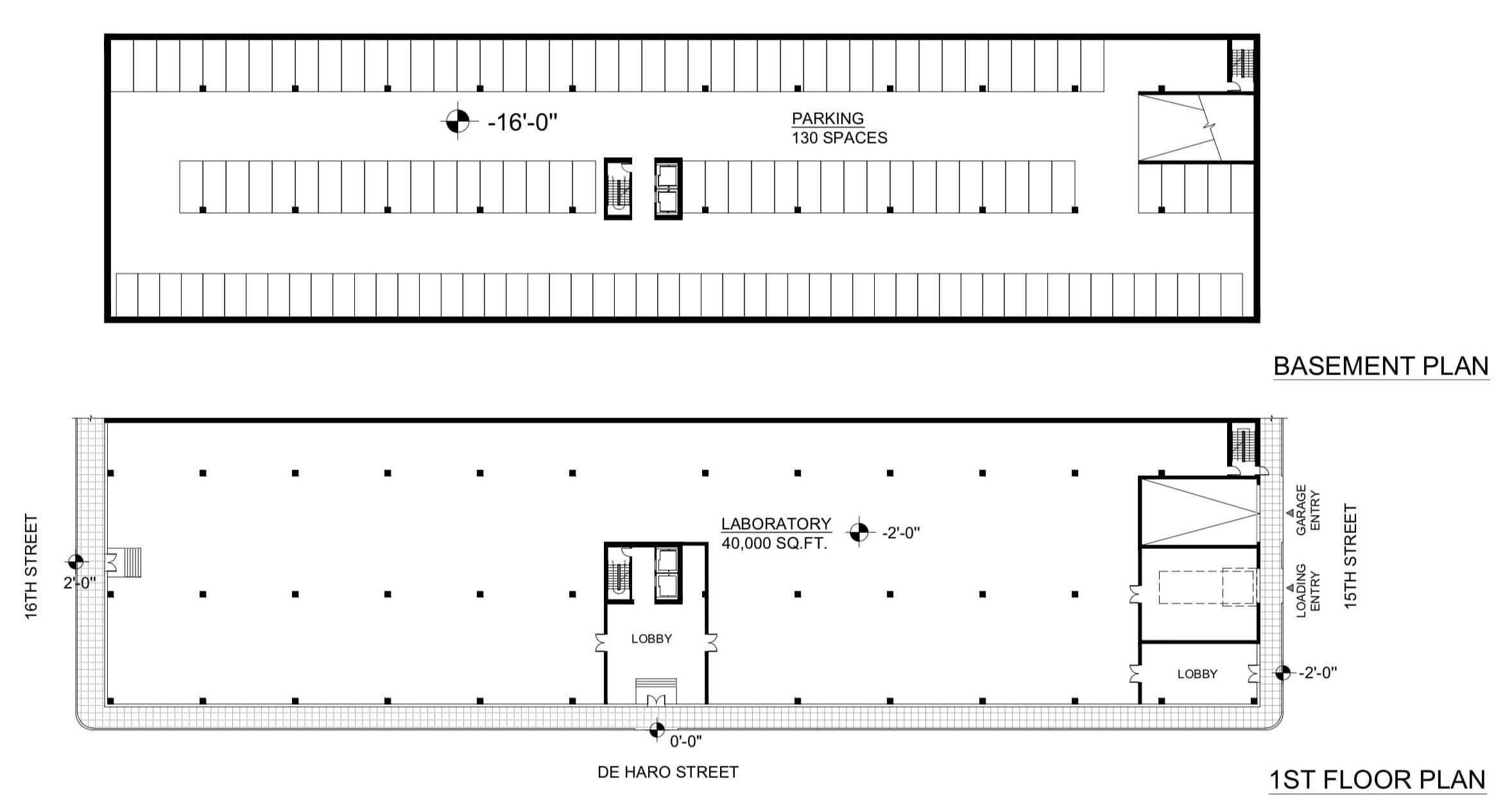 250 De Haro Floor Plans