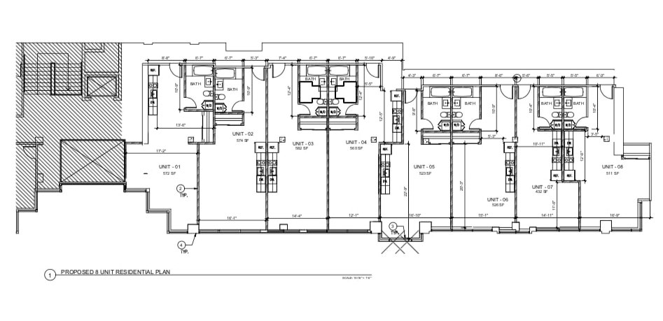 333 3rd Street Residential Floor Plan