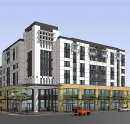 525 East Santa Clara Street, rendering by VTBS Architects