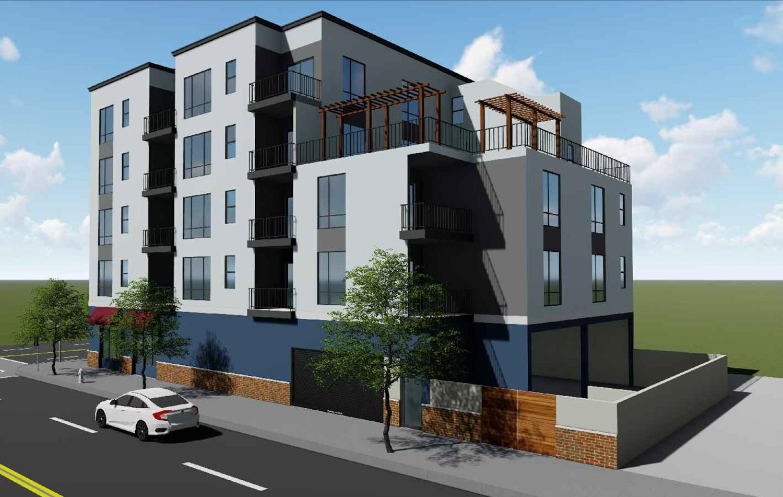 8201 MacArthur Boulevard garage view, design by Zara Construction Group