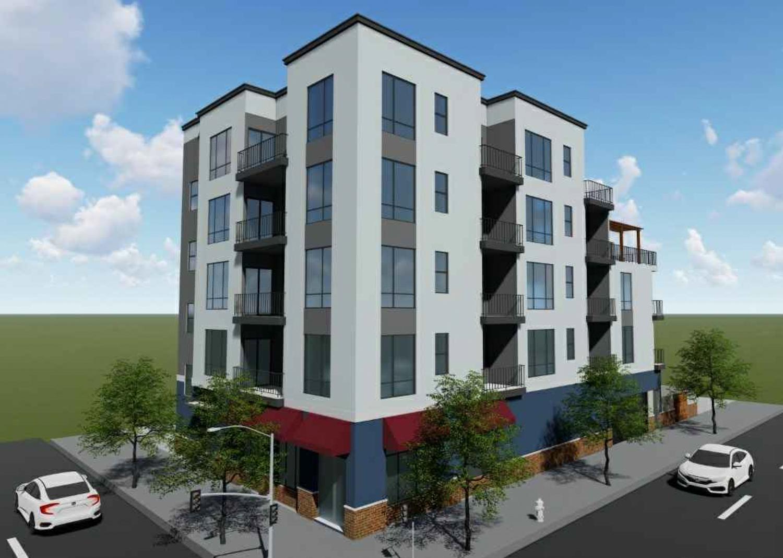 8201 MacArthur Boulevard vertical view, design by Zara Construction Group