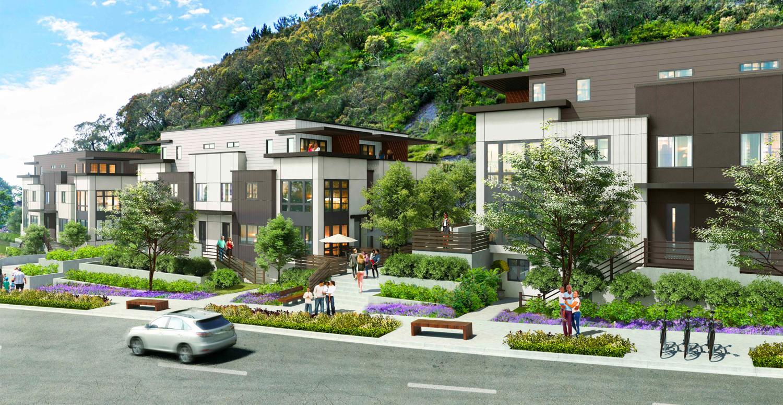 853 Jamestown Avenue paseo, design by Hunt Hale Jones Architects