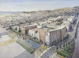 Balboa Reservoir development, illustration from VMWP