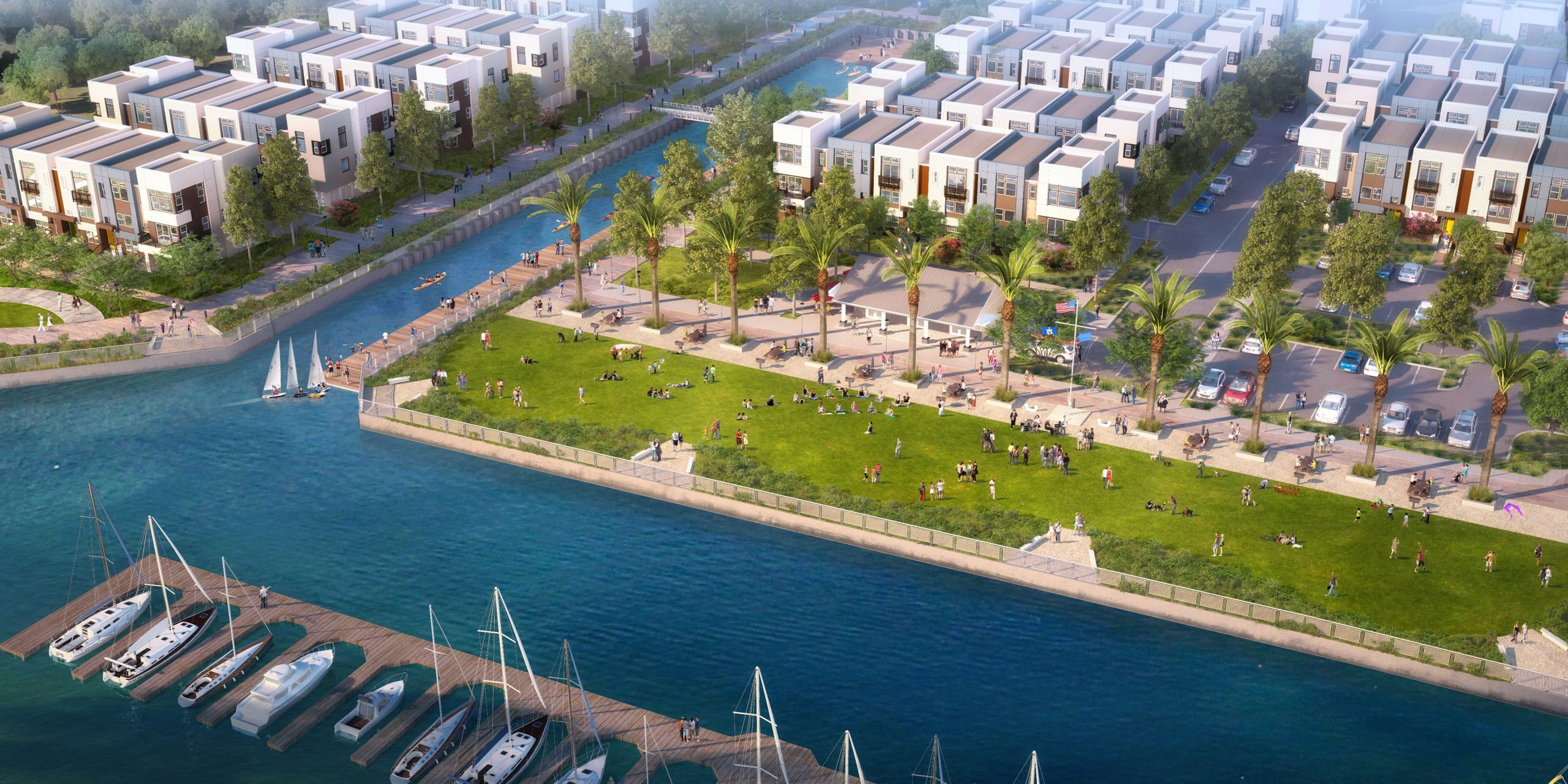 Harbor View Park Alameda Marina
