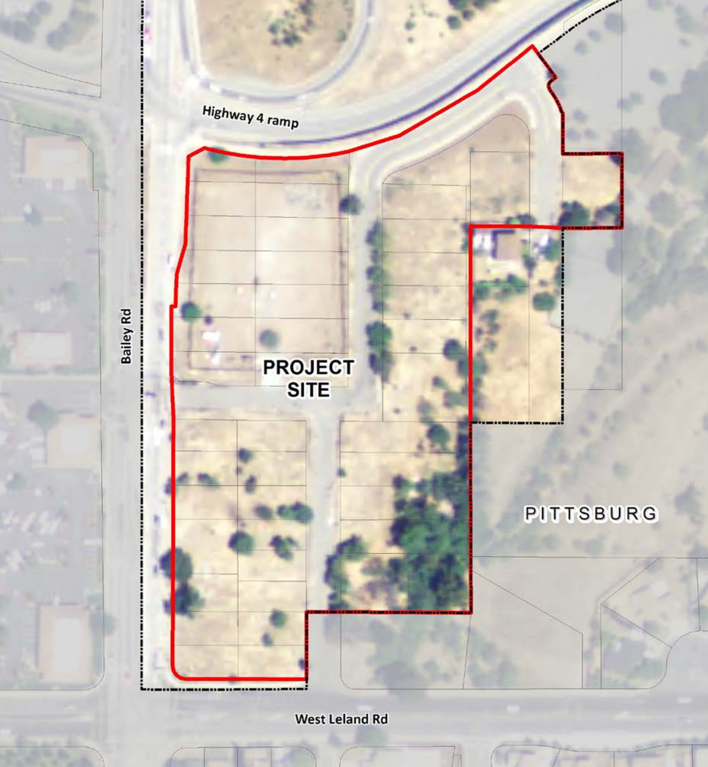 Orbisonia Heights project site map, image via Conta Costa County