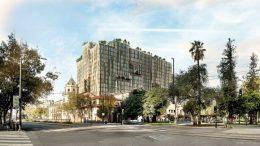 Park Habitat at 180 Park Avenue seen from San Carlos Street, development by Westbank and Urban Community