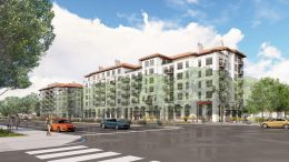 Westport Cupertino at 21267 Stevens Creek Boulevard apartment building, design by C2K Architecture