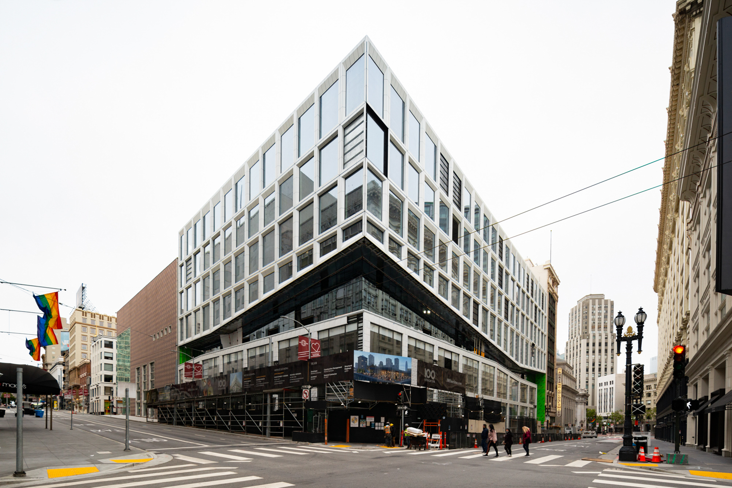 100 Stockton Street view, image by Andrew Campbell Nelson