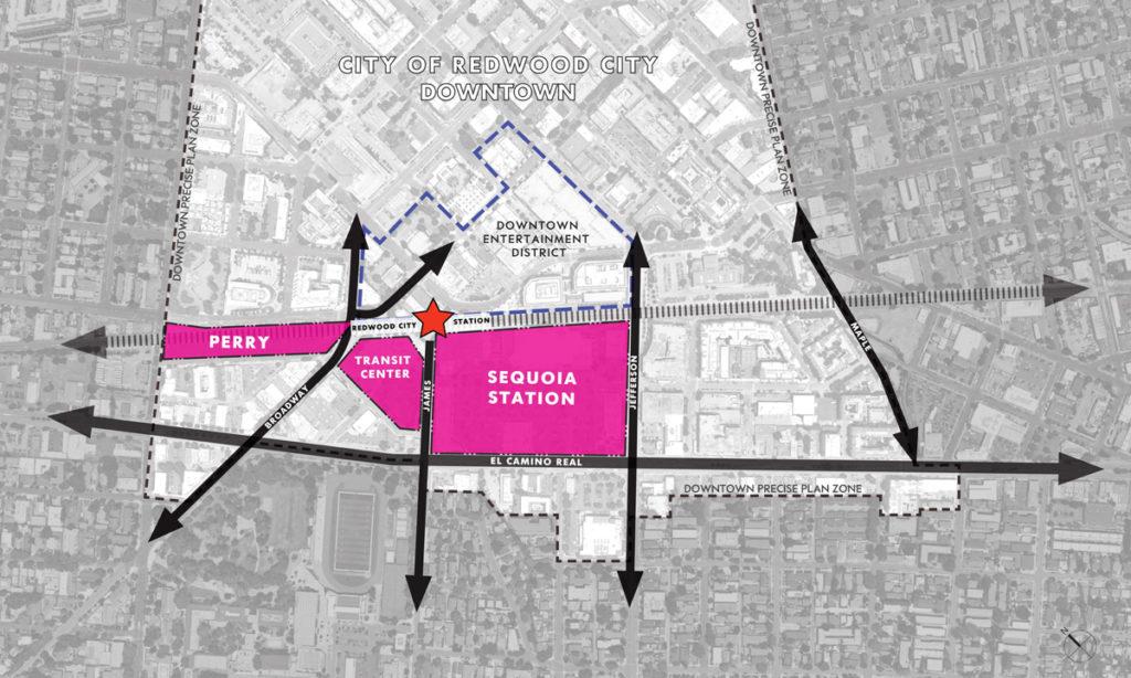 1057 El Camino Real Site Plan