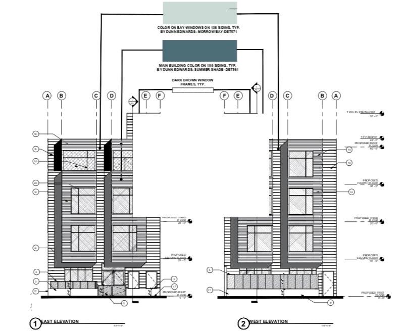 1358 South Van Ness Avenue Elevations
