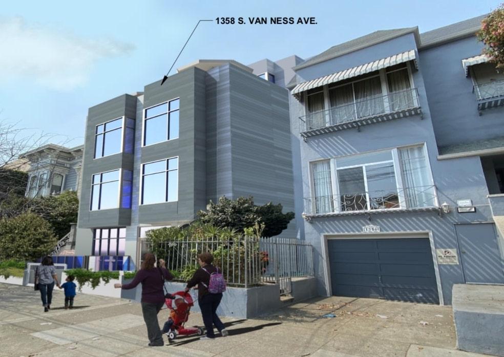 1358 South Van Ness Avenue Rendering