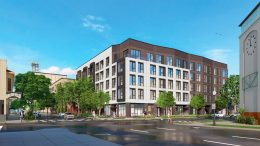 1617 J Street apartments, rendering by C2K Architecture
