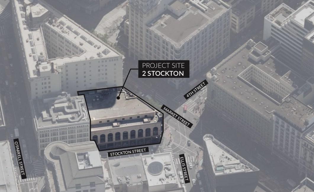 2 Stockton Street Site Plan