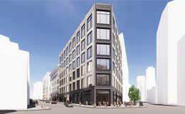 2 Stockton proposed extension, rendering by Gensler